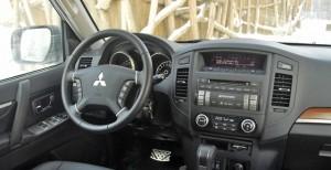 Mitsubishi Pajero IV до отделки салона