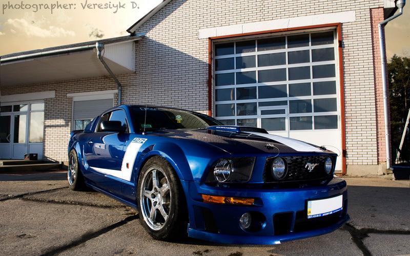 Mustang Roush от G-Custom